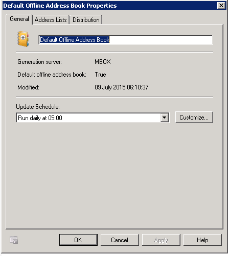 Outlook address book not updating in cached mode