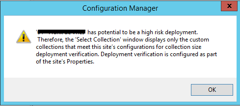 How to disable high risk deployment check