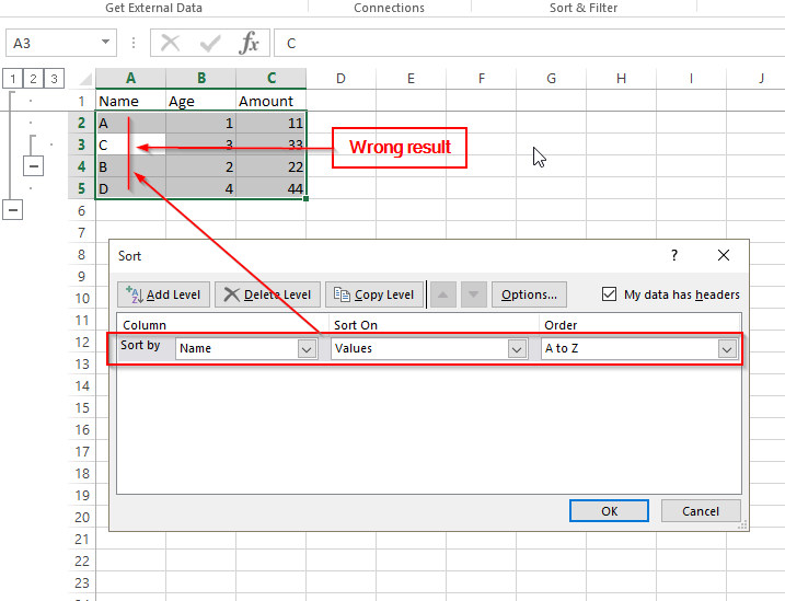 Problem with grouping rows and freezing panes - Excel locks up!