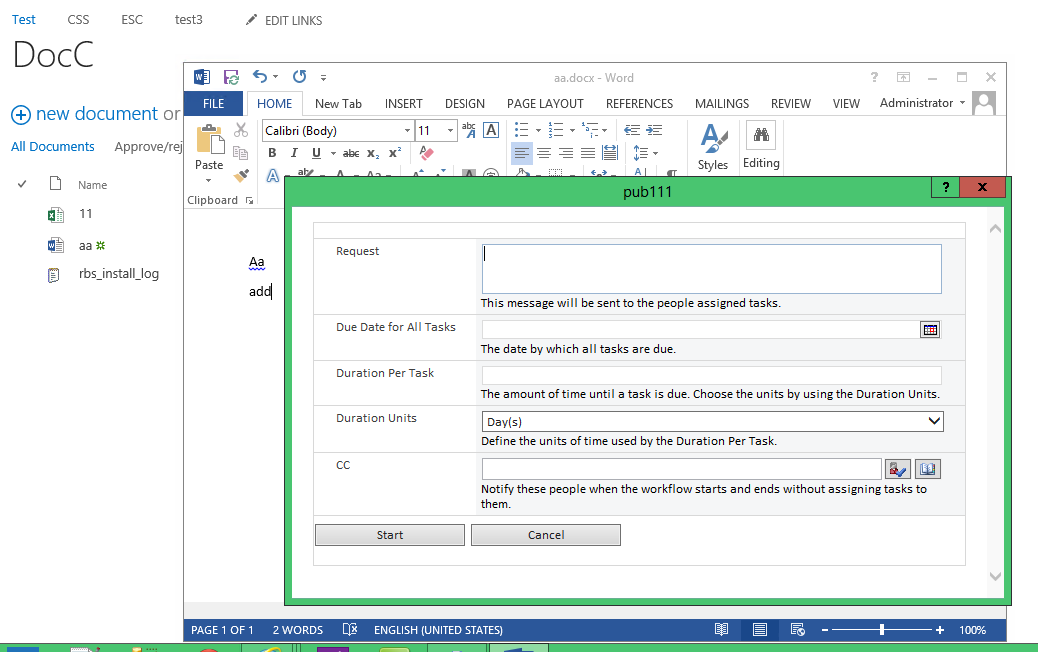 Publishing Approval workflow not starting when client Office ...