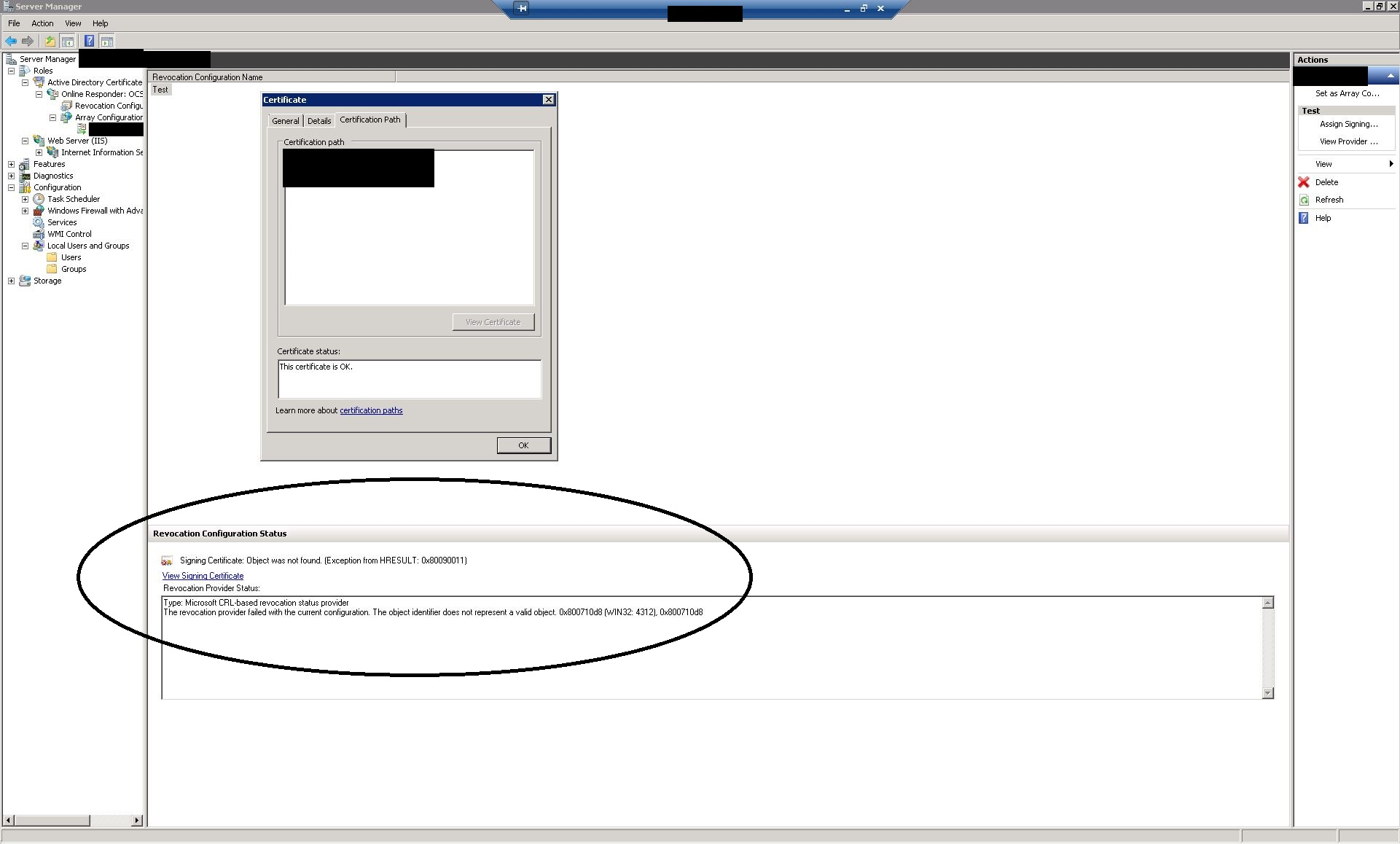 Ocsp says its signing certificate object identifier is invalid brian 1betcityfo Choice Image