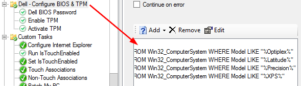 WMI query: Checking TPM status to install software