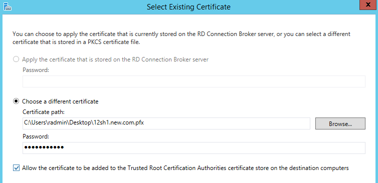 How To Create A Certificate From Your Own Ca For Rds Vdi Host