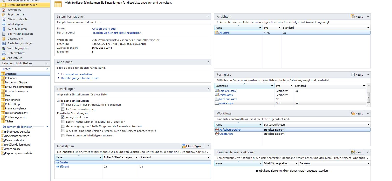Display List New Form In Sharepoint Sitecollection Start Page # Bibliotheque But