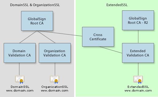 IIS Intermediate SSL Zertifikats-Problem