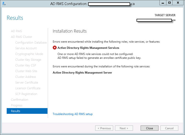Active Directory Rights Management Service(On premise) forum