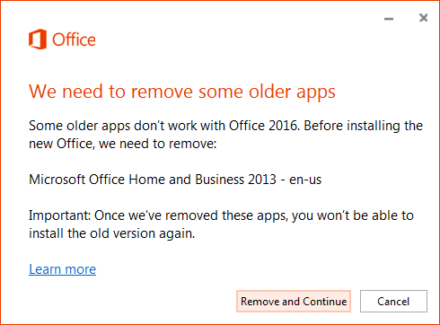 up until last week we had installed skype for business downloaded from the user portal on over 100 systems that are running office 2013 home and business