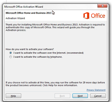 office 2013 kms activation error 0x4004f00c