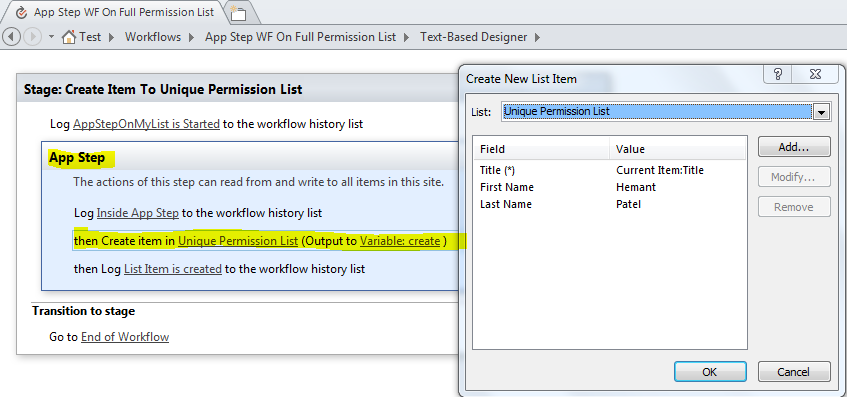 manage sharepoint list items without permission on list using