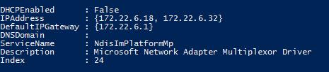 Active Cluster IPs