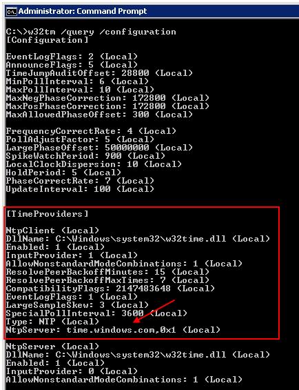 Setup DC for time sync to external NTP server