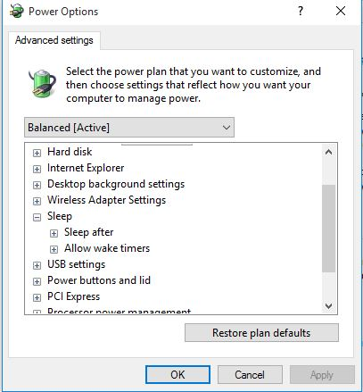 Unable to enable hibernate on windows 10 enterprise edition windows 81 where i had to disable the hybrid sleep option to get the hibernate option back but unfortunately i dont see that hybrid sleep option any ccuart Gallery