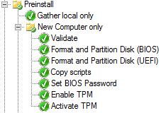 Dell TPM Activation in MDT 2013 Update 1
