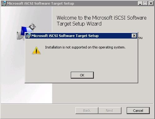 iSCSI errors id 7 and id 20