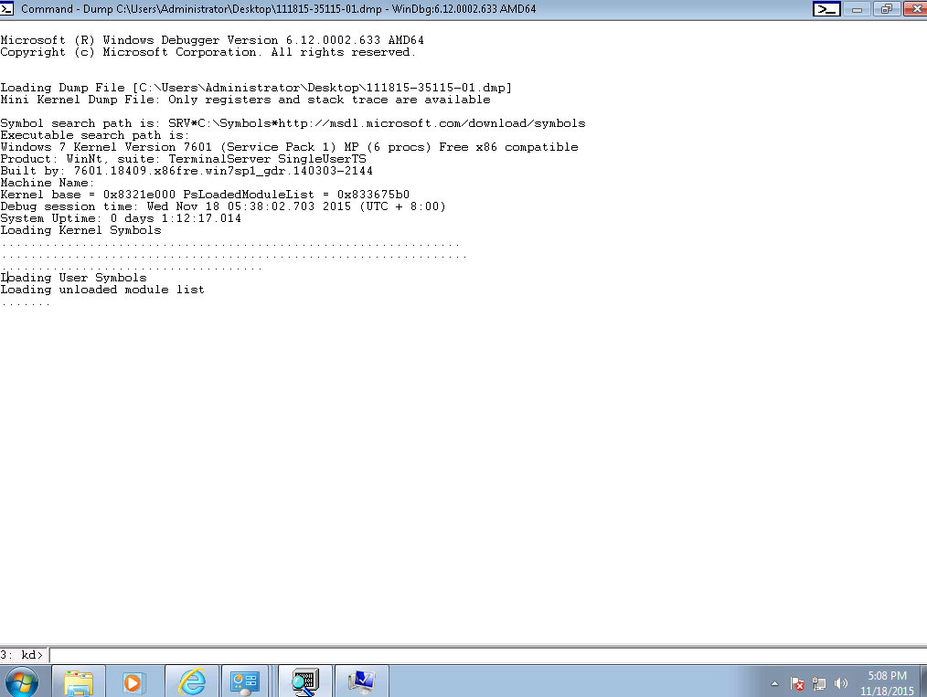 Windows frequently crashing with Minidump and sysdata xml