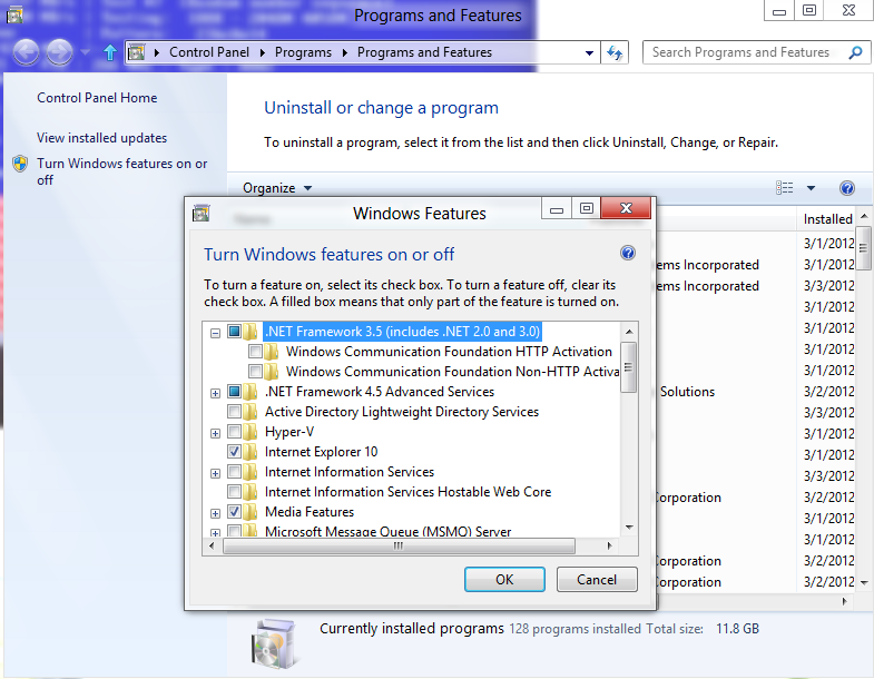 Microsoft .Net Framework 2.0 Service Pack 2 Cannot Be Uninstalled