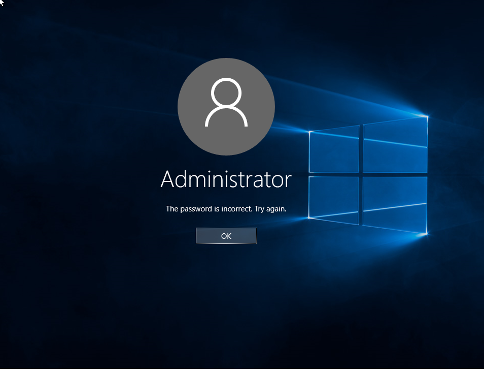 customize logon error messages windows 10 using credential providers