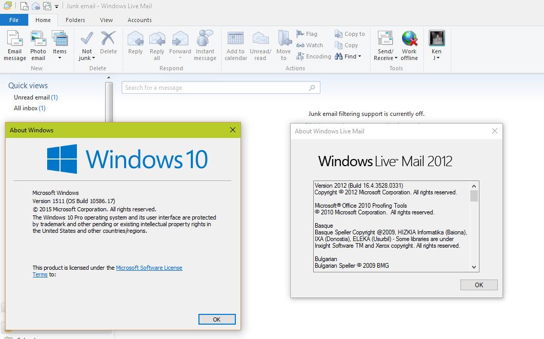 Windows Live Mail Für Windows 10