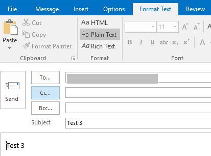 Screenshot 1 Plain Text