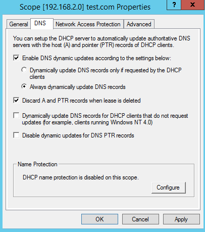 Dns clients not updating records