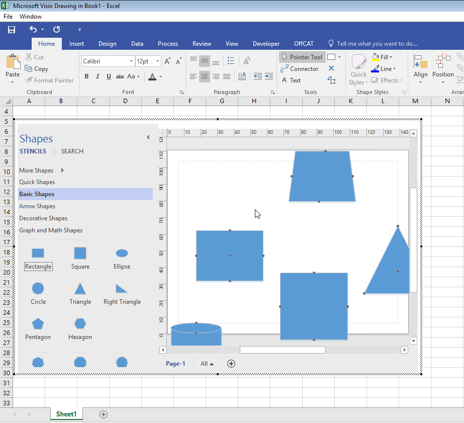 i found when i inserted visio object without link to file i can only double click this diagram and pop up visio app in excel as shown in the following - Open Visio Files Without Visio