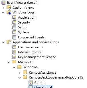 Can't RDP to Windows 10 build 10586 fresh installation machine