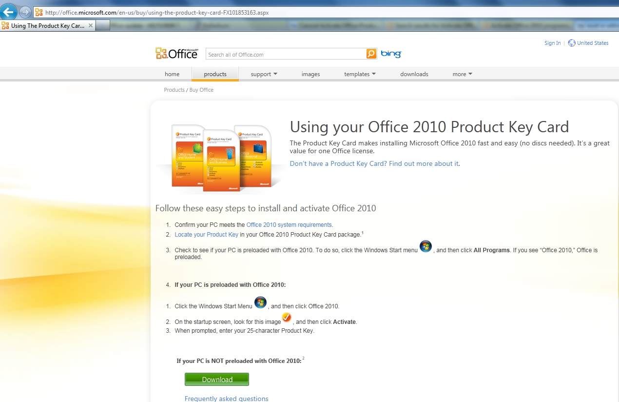 how to find my product key for microsoft office 2010