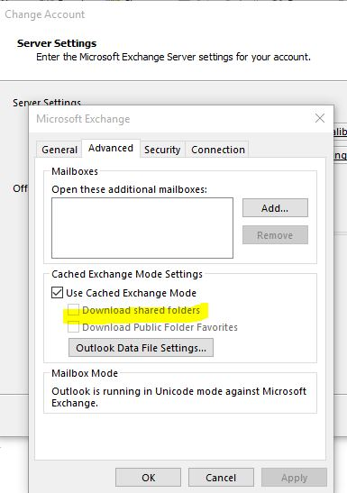 Outlook keeps prompting for password ONLY when accessing the