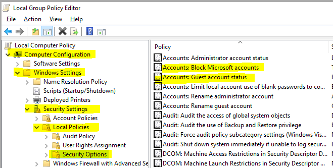 how to make an account admin win 10