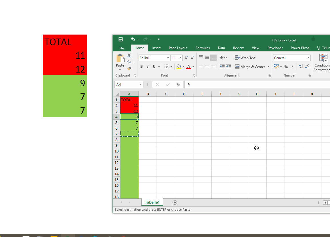 how to stop ole action in excel 2016