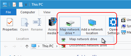 Connecting to Network Attached Storage