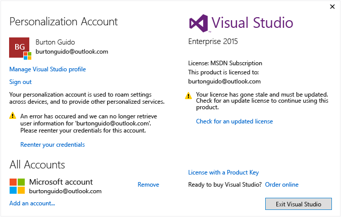 visual studio 2017 enterprise product key msdn