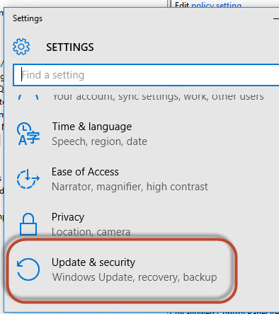 how to download windows 10 security updates manually