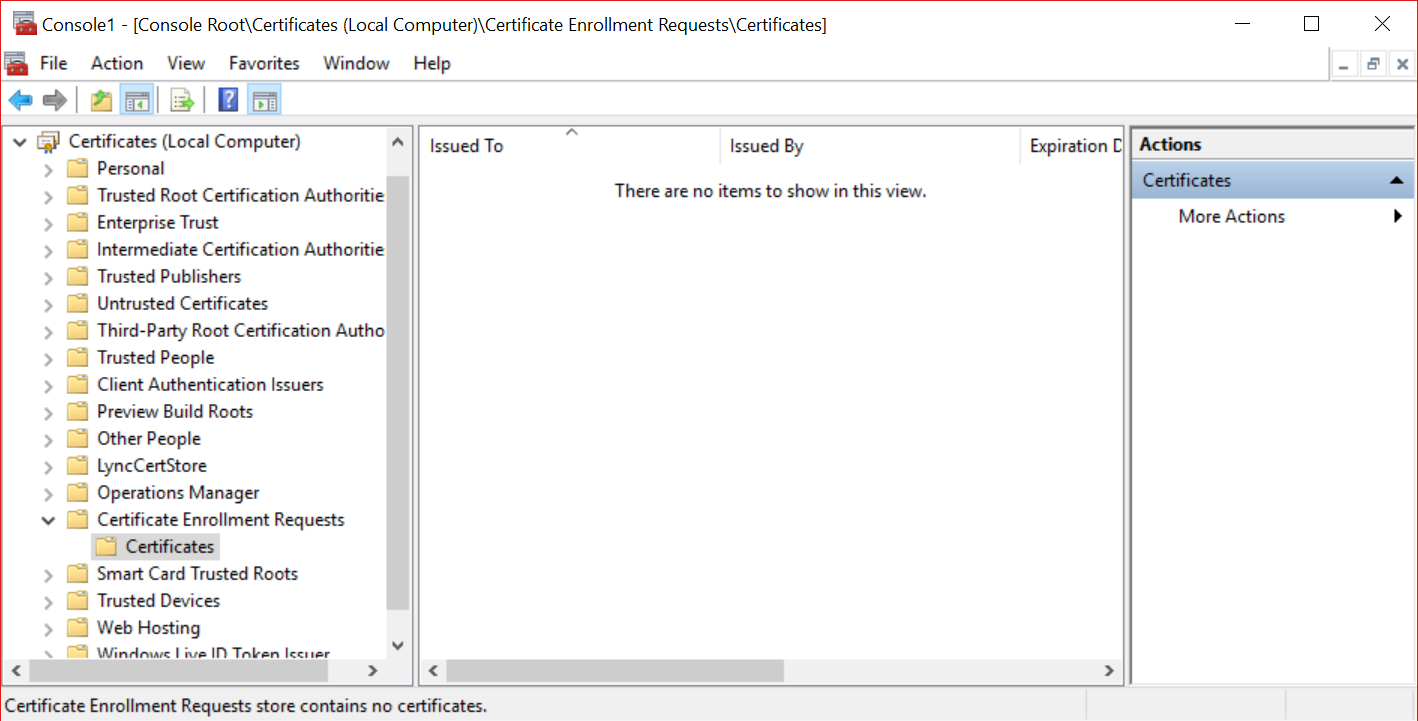 Cannot assign godaddy certificate not wildcard to edge server if you still see the certificate there it means the process was not completed try importing the downloaded certificate using the mmc and confirm you can 1betcityfo Images