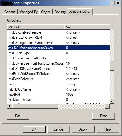 Atributo ms-DS-MachineAccountQuota
