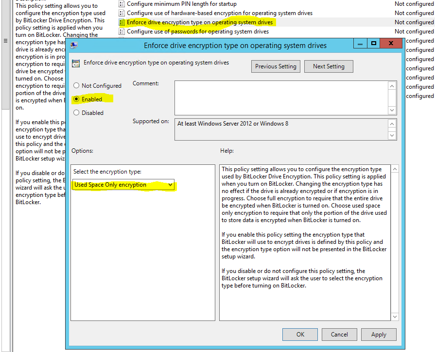 Missing GPO settings for MBAM 2 5 SP1