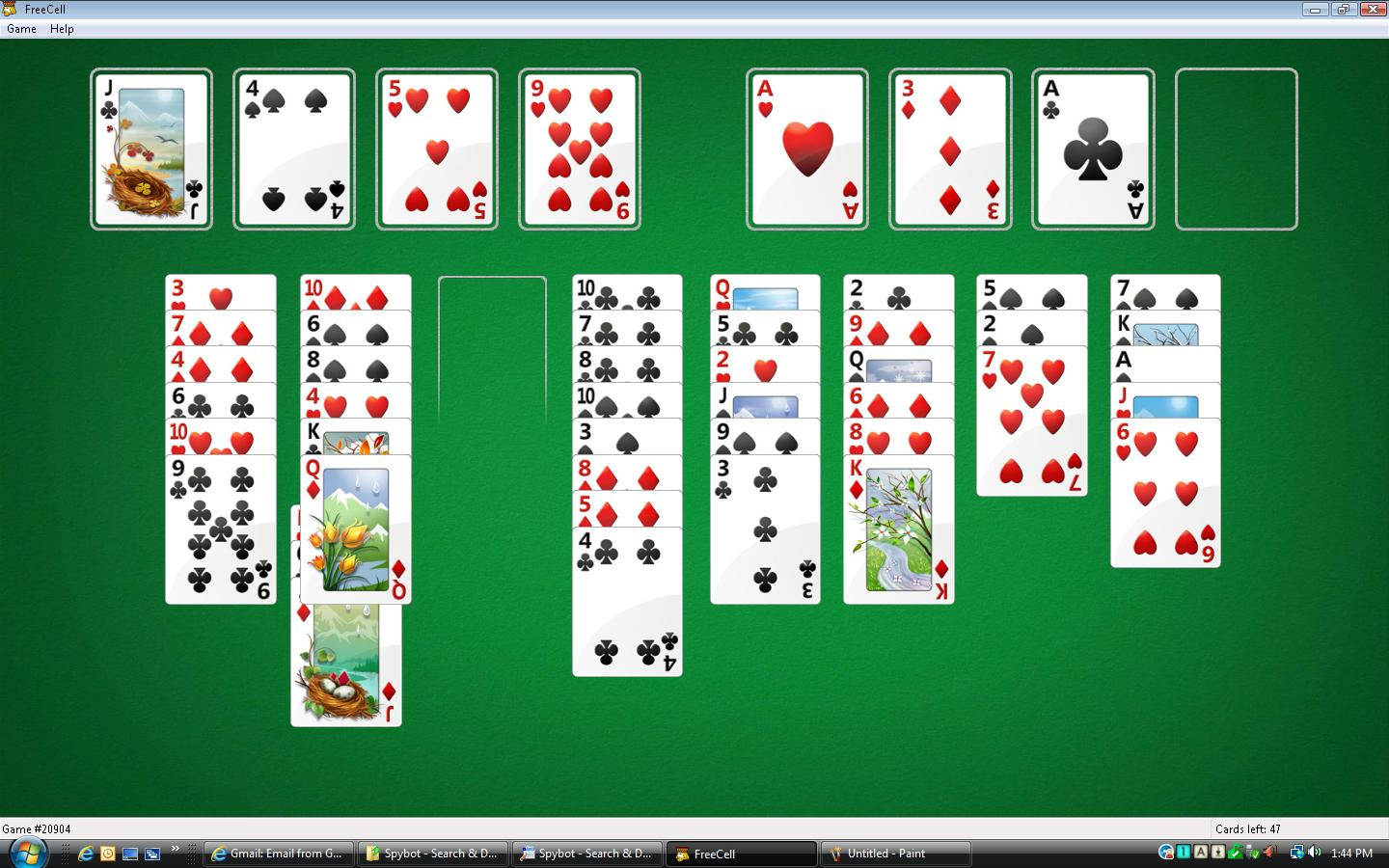 Freecell is not working correctly in Windows Vista 32-bit ...
