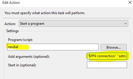 Windows 10 VPN Sonicwall