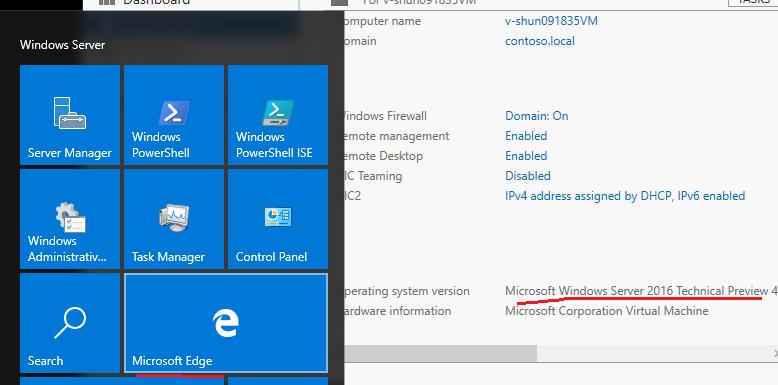 install edge browser on windows server
