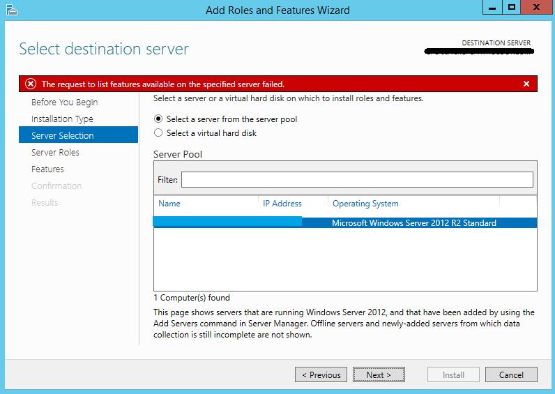 Server Manager forum