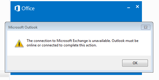 Outlook Takes Long time to Connect Exchange Server
