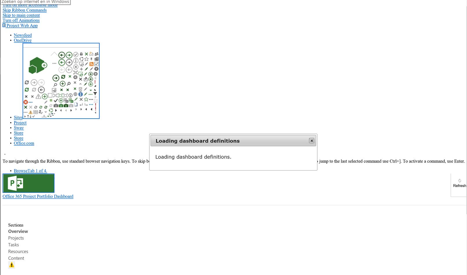 Office 265 Project Portfolio Dashboard app