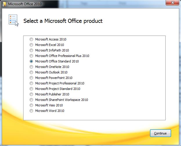 Download free Microsoft Project Standard 2010 for windows 8