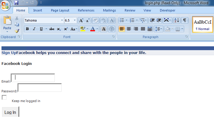 www facebook com login php