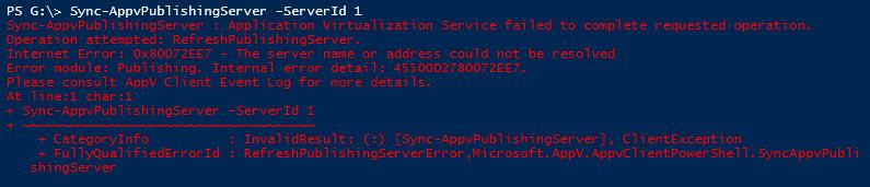 microsoft hotfix  internal server error