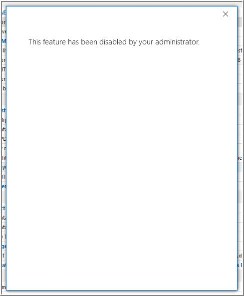 Cannot Connect Office 365 Sharepoint Calendar to Outlook 2016