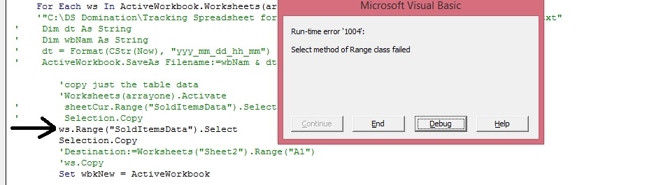 How do i create a variable that will hold worksheet objects ...
