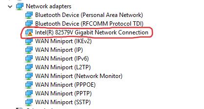 INTEL 82579V GIGABIT LAN DRIVERS FOR WINDOWS MAC