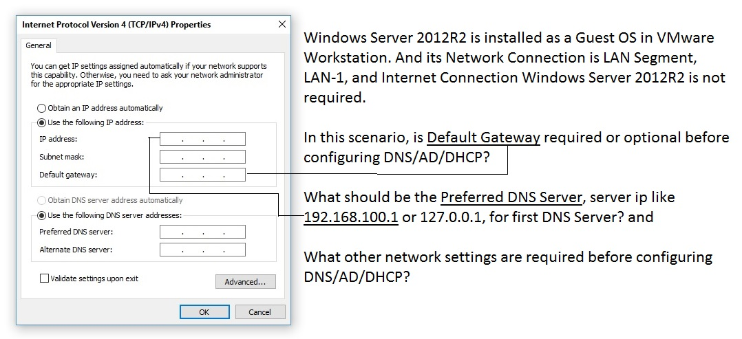 how to find preferred dns server
