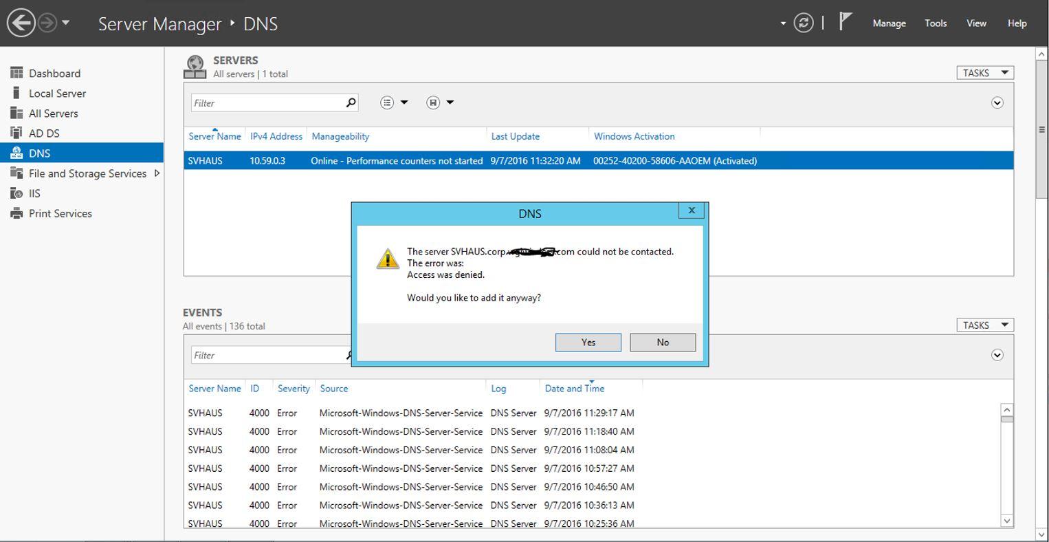 dns error 4000 no dns , no active directoryHow To Resolve Event Id 4000 #6